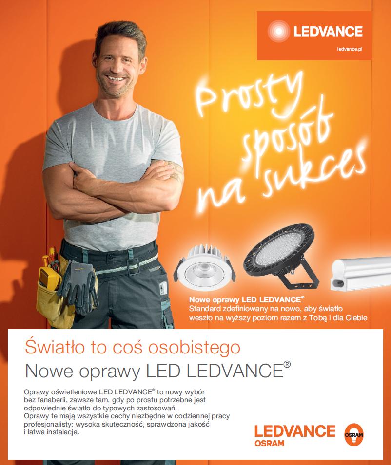 Promocja LEDVANCE 'Prosty sposób na sukces - dla Instalatorów'